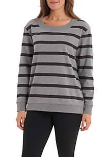 Jackie Long Sleeve Stripe Top