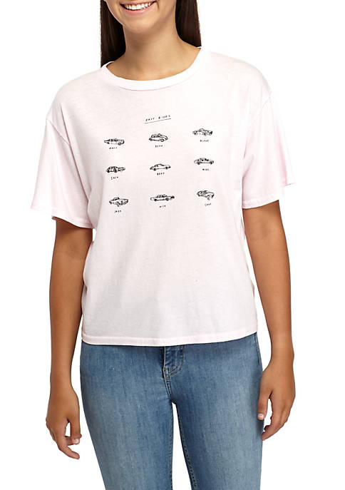 Michelle by Comune Lamar Old Car Graphic Tee