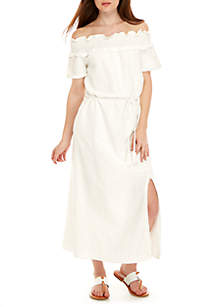 Peony Off-The-Shoulder Dress