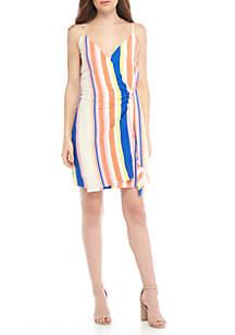 Rory Wrap Mini Dress