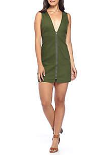Bethany Mini Zip Front Dress