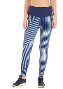 Striped Yoga Pants