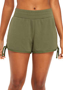 Tie Hem Shorts