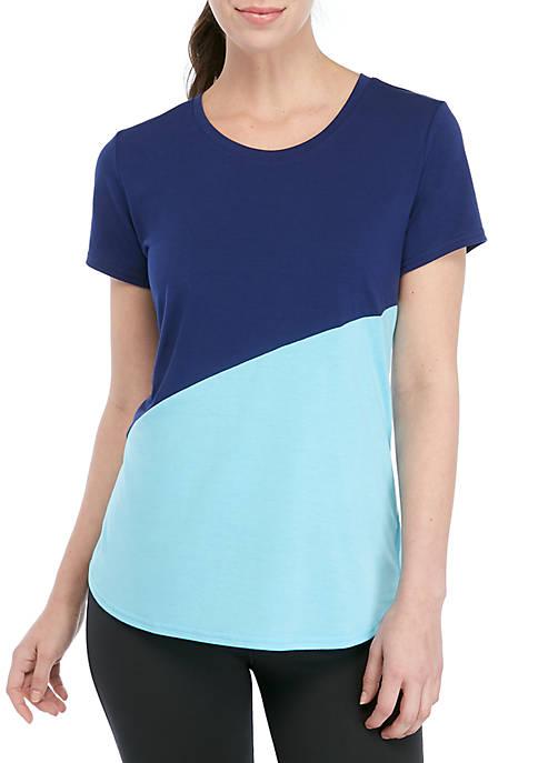 Short Sleeve Color Black T Shirt