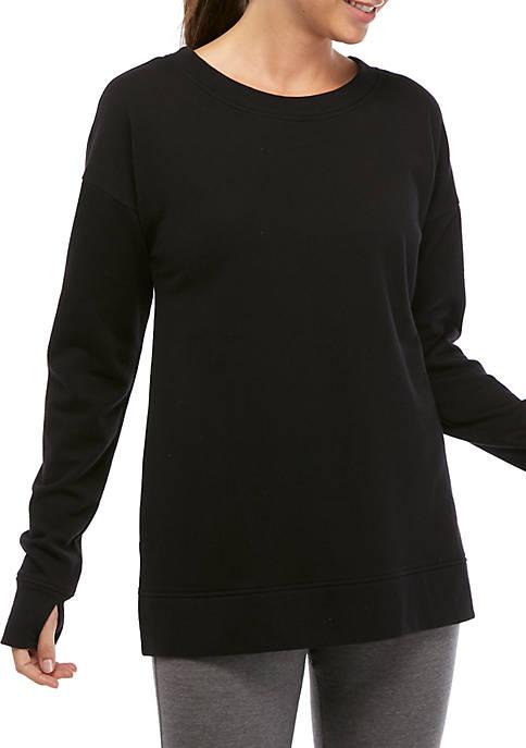 Fleece Pullover Tunic