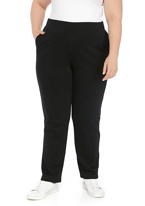 Plus Size Fleece Pants