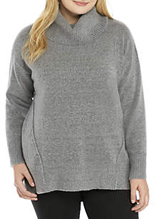 Plus Size Tunic Sweater