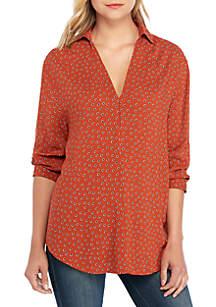Madison Long Sleeve Dot Tunic