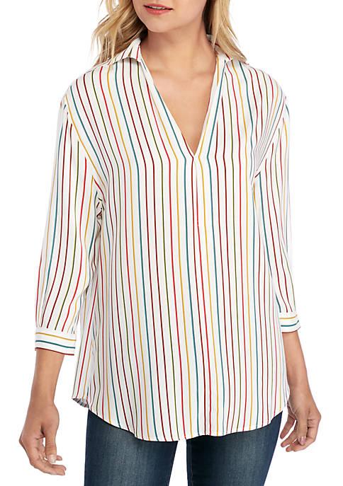 Multi Stripe Tunic