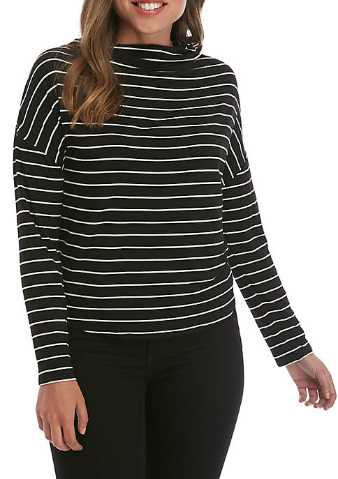 Madison Striped Long Sleeve T-Shirt
