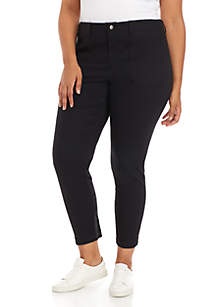 Madison Plus Size Sateen Pants