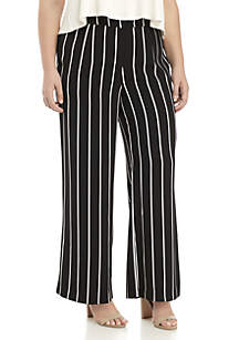 Plus Size Wide Leg Pant
