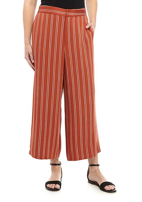 Madison High Waist Crop Pants