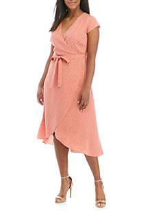 Madison Plus Size Wrap Dress