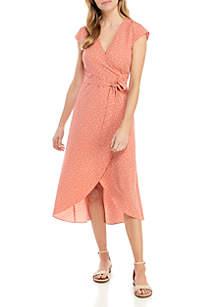 c77382ab4a ... Madison Wrap Polka Dot Dress