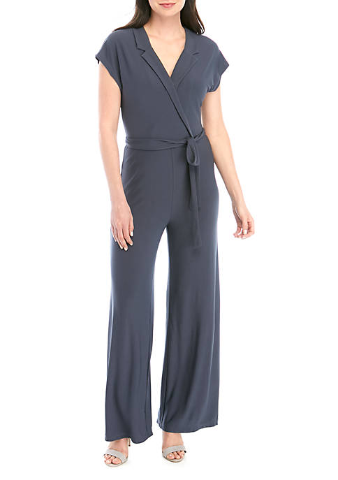 Madison Solid Knit Jumpsuit