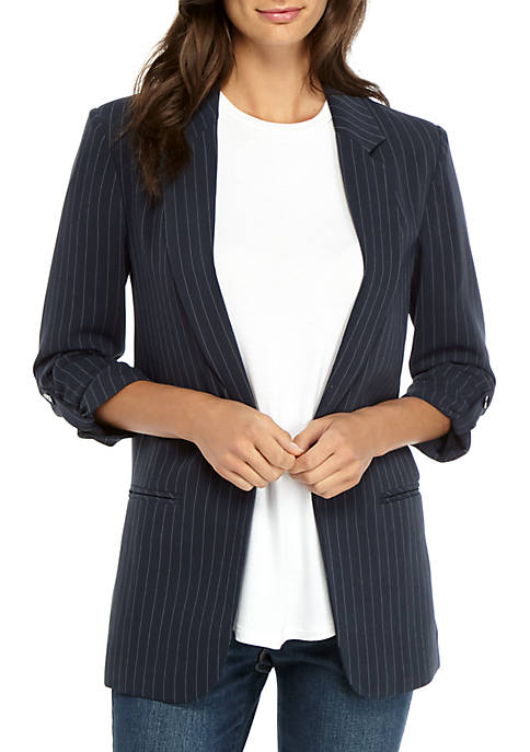 Madison Pinstripe Blazer