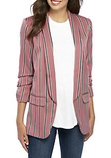 Stripe Core Blazer