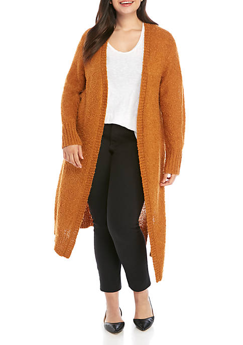 Madison Plus Size Duster Cardigan