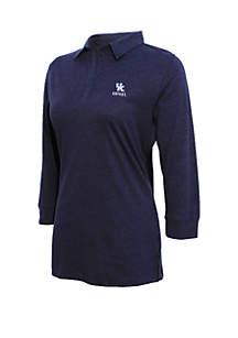 Kentucky Wildcats 3/4 Sleeve Jersey Polo