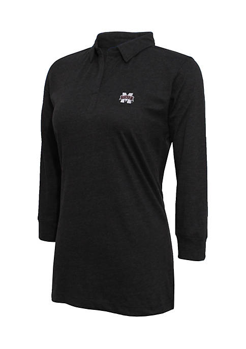 Mississippi State 3/4 Sleeve Jersey Polo