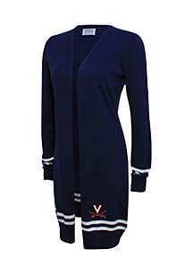 UVA Striped Sleeve Cardigan