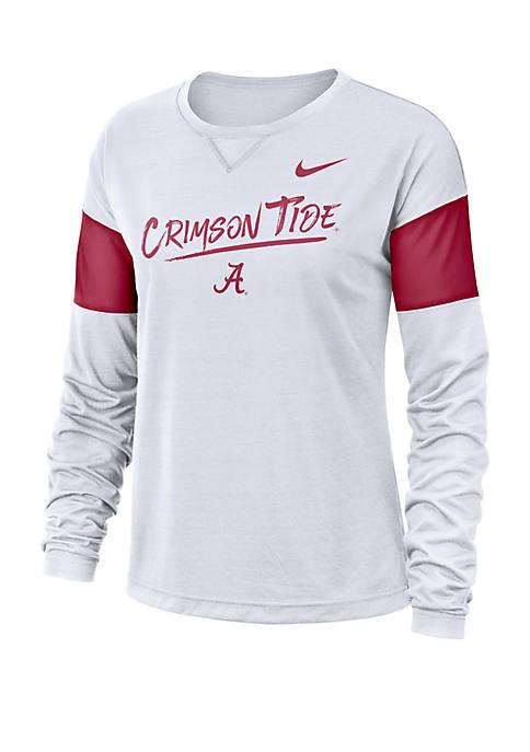 Nike® College Breathe Alabama Crimson Tide Long Sleeve