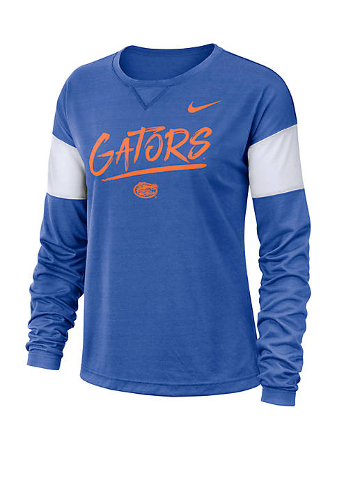 College Breathe Florida Gators Long Sleeve Top