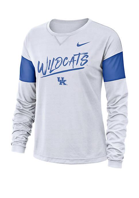 College Breathe Kentucky Wildcats Long Sleeve Top