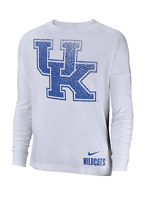 Kentucky Wildcats Breathe Logo Oversize Top