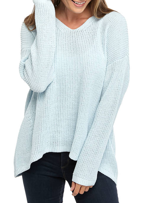 New Directions® Womens Long Sleeve Sweater