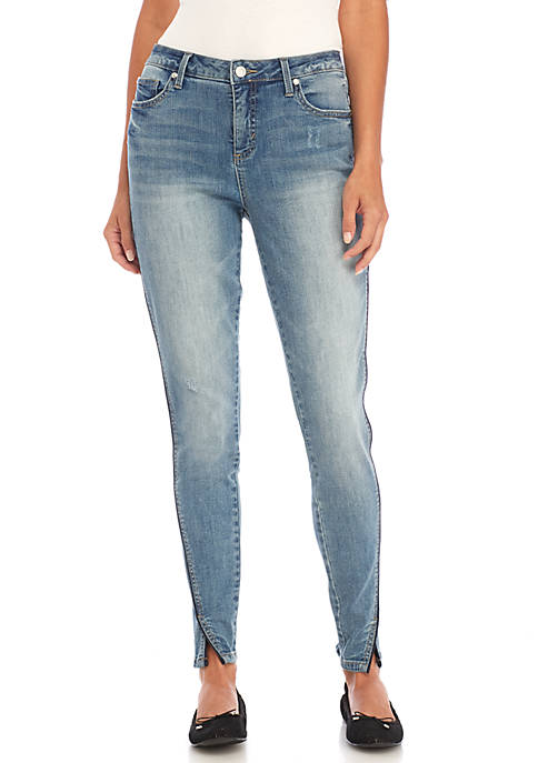 Kaari Blue™ Twisted Denim Seam Piping Jeans
