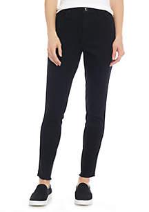 Glitter Stripe Skinny Jeans