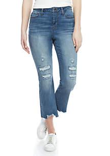 Kaari Blue™ Skinny Crop Flare Jeans
