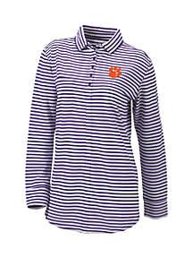 Columbia Collegiate Clemson Tigers Omni Wick Jewel Long Sleeve Shirt