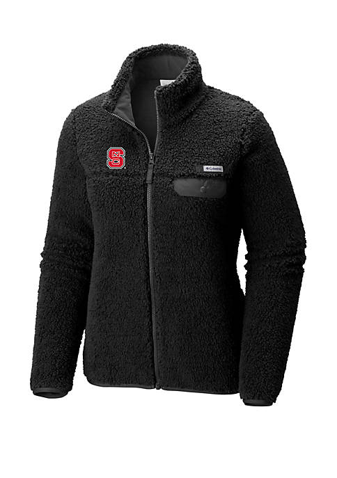 Columbia NC State Wolfpack Mountainside Full Zip Sherpa