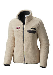 Mississippi State Bulldogs Mountainside Full Zip Sherpa Jacket