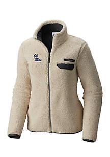 Ole Miss Rebels Mountainside Full Zip Sherpa Jacket