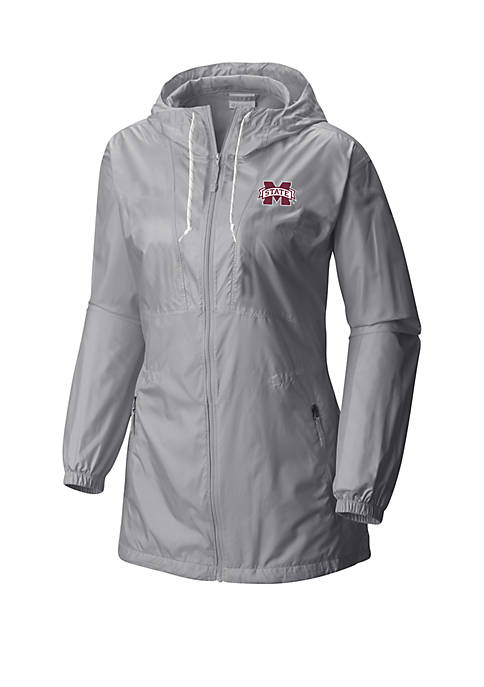 Columbia Mississippi State Bulldogs Flashback Long Windbreaker