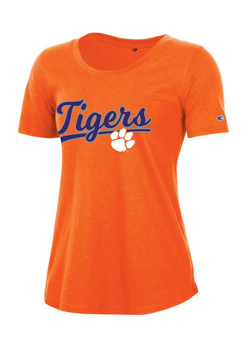 Champion® NCAA Clemson Tigers Relaxed Fit Short Sleeve