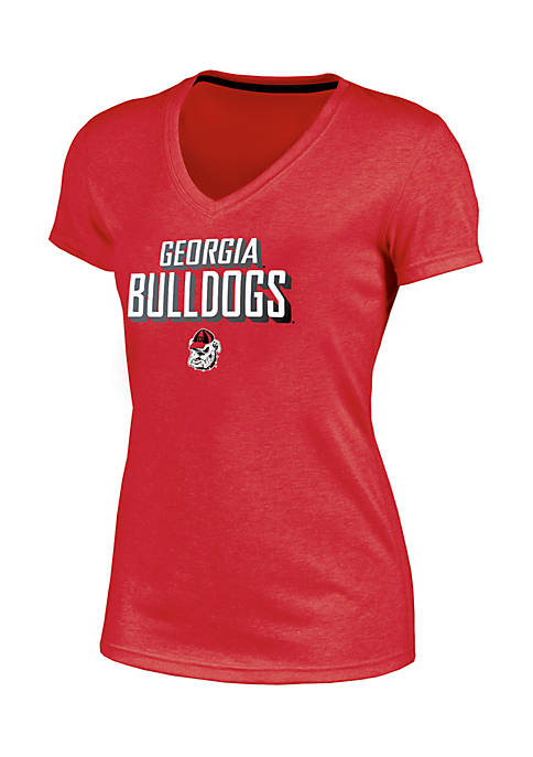 Champion® Short Sleeve University of Georgia Success V-Neck