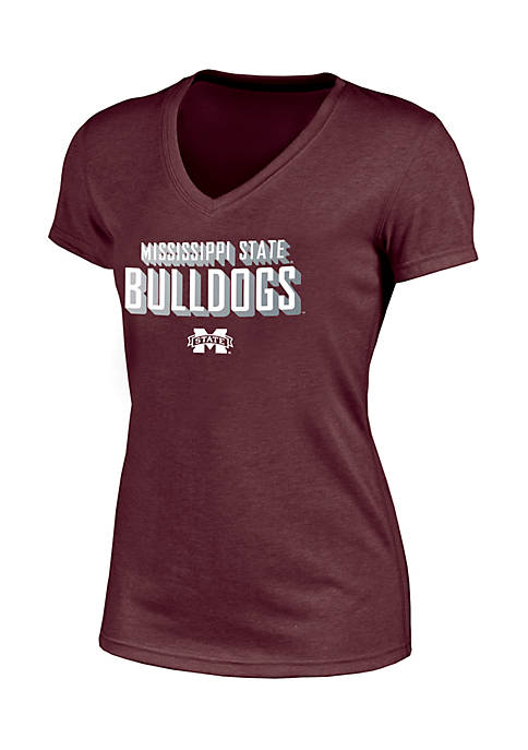 Champion® Short Sleeve Mississippi State Success V-Neck Tee