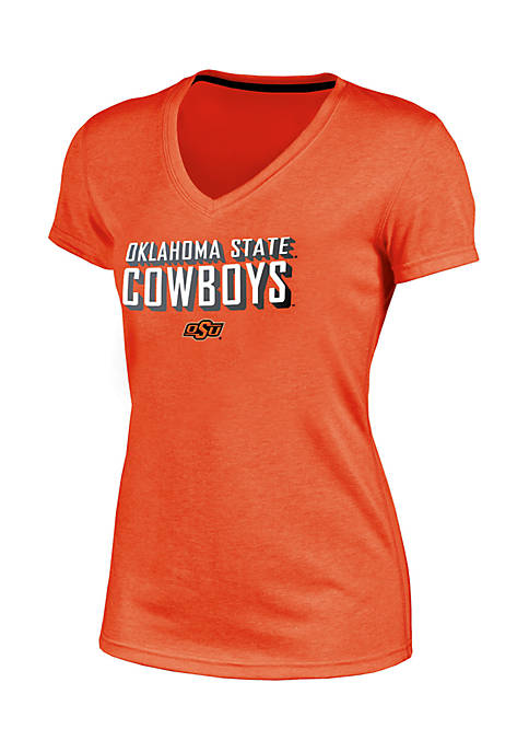 Champion® Short Sleeve Oklahoma State Success V-Neck Tee