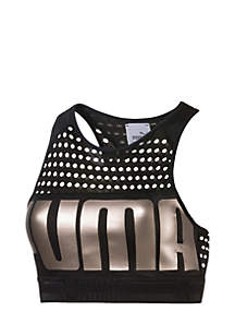 Metallic Sports Bra