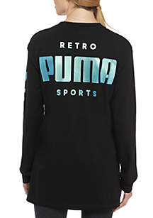 Retro Long Sleeve Tee