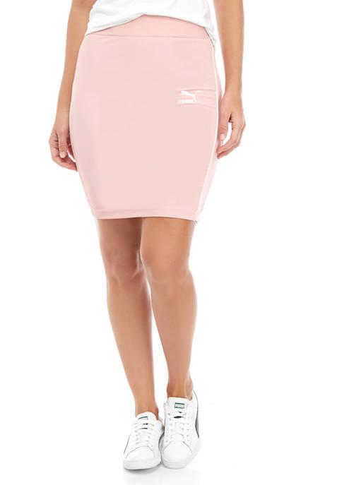 Womens Classic Rib Skirt