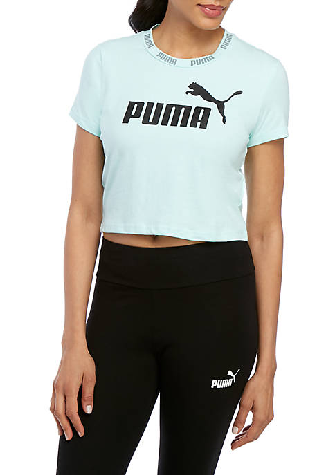 Logo Cropped T Shirt