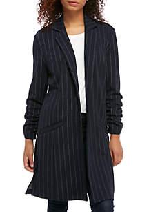 Striped Double Knit Jacket