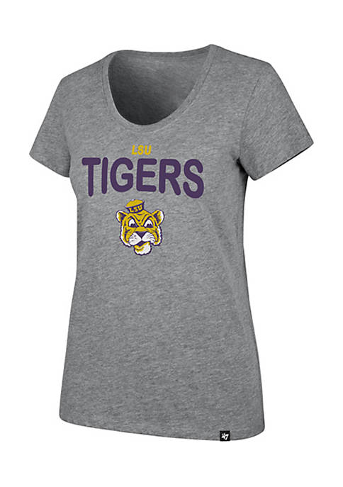 47 Brand Louisiana State University Wordmark Scoop Neck