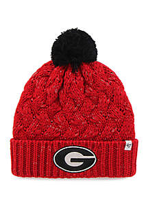 Georgia Bulldogs Fiona Cuffed Beanie Hat